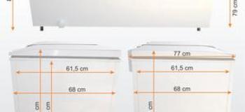Aluguel de freezer horizontal sp